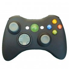 XBOX 360 Wireless Controller Microsoft *COMPATIBLE* BLACK