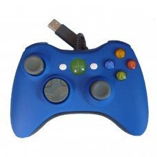 XBOX 360 Wired Controller *Compatible* Blue