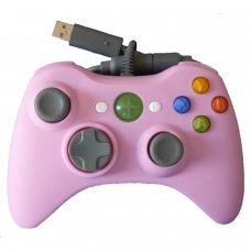 XBOX 360 Wired Controller *Compatible* Pink