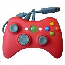 XBOX 360 Wired Controller *Compatible* Red