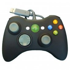 XBOX 360 Wired Controller *Compatible* BLACK