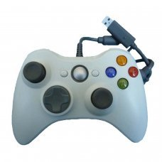 XBOX 360 Wired Controller *Compatible* White