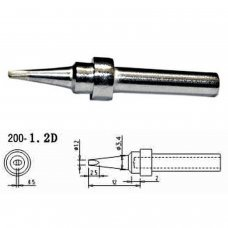 Mlink S4 MOD 200-1,2D Replacement soldering iron tips