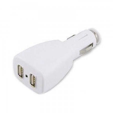 Cargador coche USB  2 puertos ACCESORIOS 3DS  3.00euro - satkit