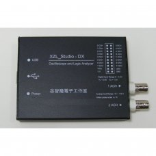 Analizador logico y Osciloscopio XZL-STUDIO DX USB (WINDOWS)