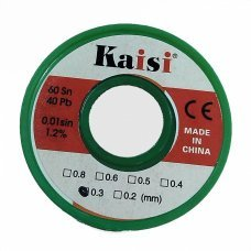 tin wire 0,3 150 gr leaded