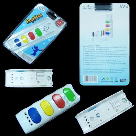 Accesorio Popstar Guitar Wii MANDOS Wii  1.50 euro - satkit